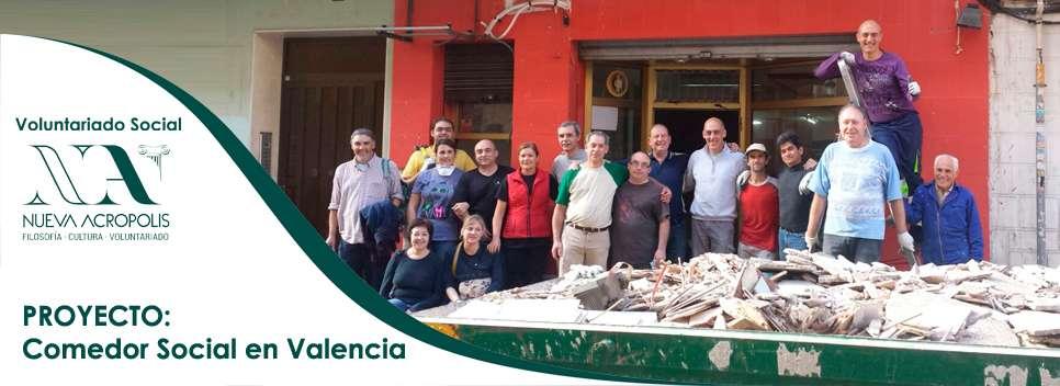 Proyecto de comedor social en Valencia