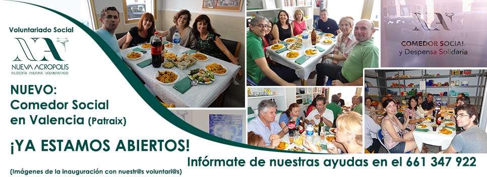 Abierto el nuevo comedor social en Valencia